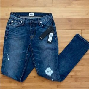 Hudson Crop Riley Jeans